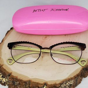 "BETSEY JOHNSON ""MAD FOR MOD"" Eyeglass Frames"